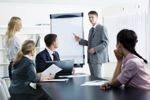 vállalati tréning
